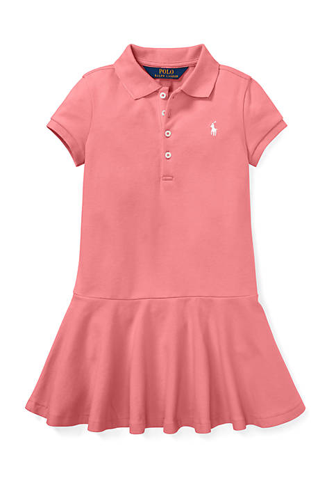 Ralph Lauren Childrenswear Girls 4-6x Short-Sleeve Polo Dress