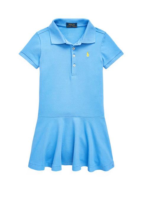 Ralph Lauren Childrenswear Girls 4-6x Short-Sleeve Polo Dress