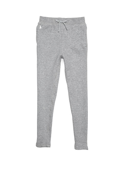 Ralph Lauren Childrenswear Girls 4-6x French Terry Legging