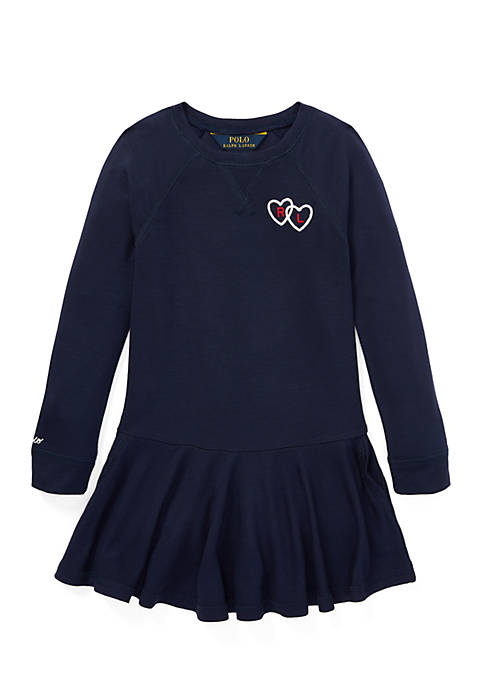 Ralph Lauren Childrenswear Girls 4-6x Polo French Terry