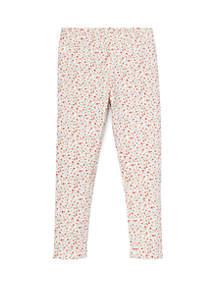 Girls 4-6x Floral Jersey Legging