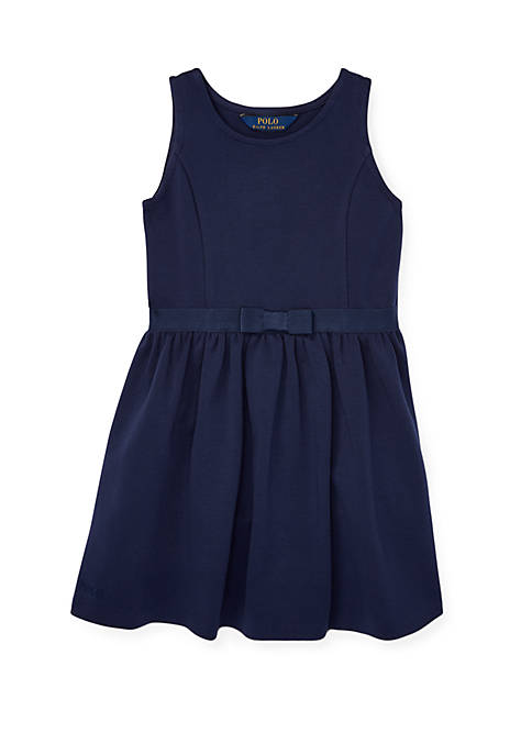 Ralph Lauren Childrenswear Girls 4-6x Ponte Sleeveless Dress