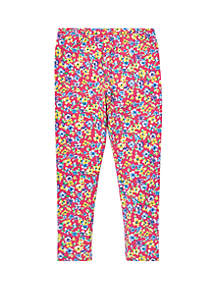 Ralph Lauren Childrenswear Girls 4-6x Floral Jersey Leggings