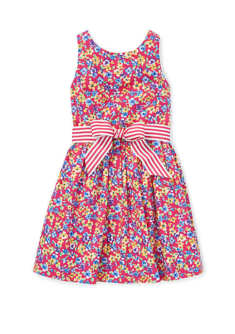 Ralph Lauren Childrenswear Girls 4-6x Floral Fit and