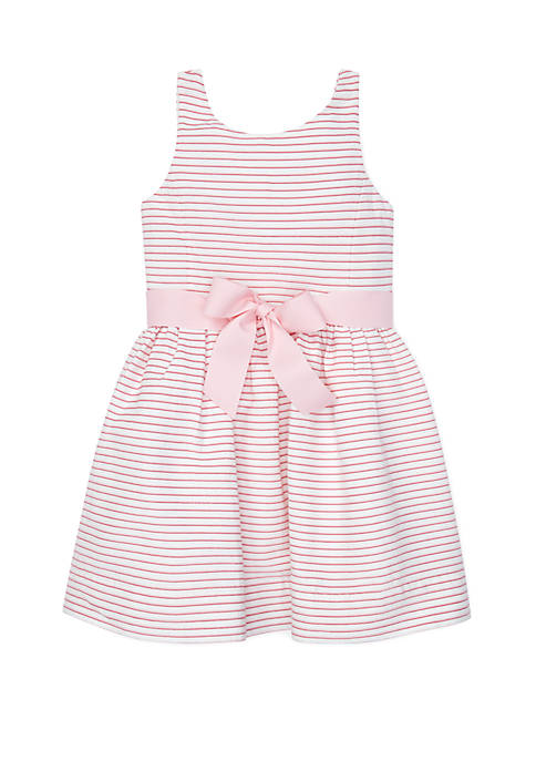 Ralph Lauren Childrenswear Girls 4-6x Striped Fit and