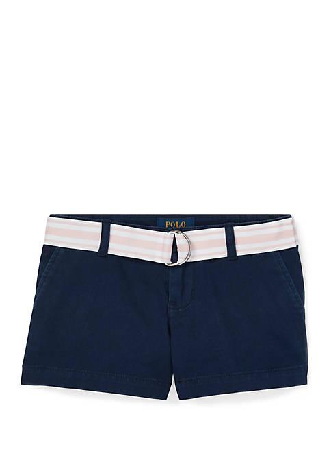 Girls 4-6x Chino Shorts