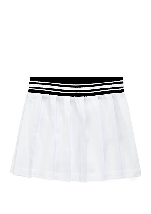 Girls 4-6x Pleated Chino Skirt