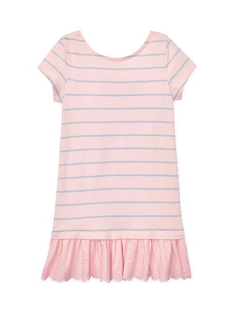 Ralph Lauren Childrenswear Girls 4-6x Cotton Jersey Tee