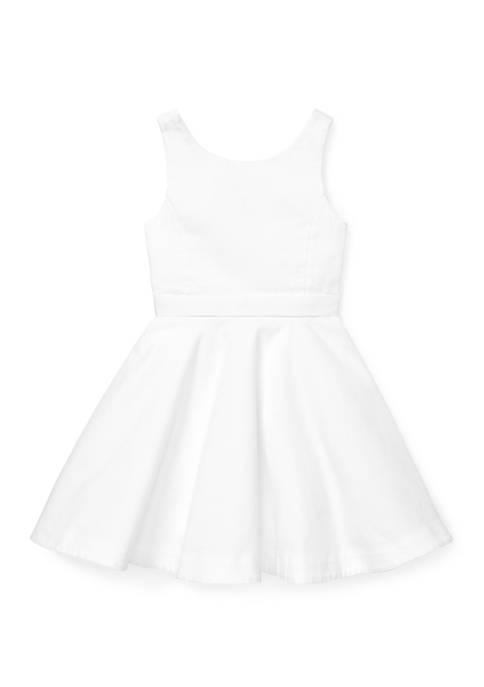 Ralph Lauren Childrenswear Girls 4-6x Cotton Piqué Dress