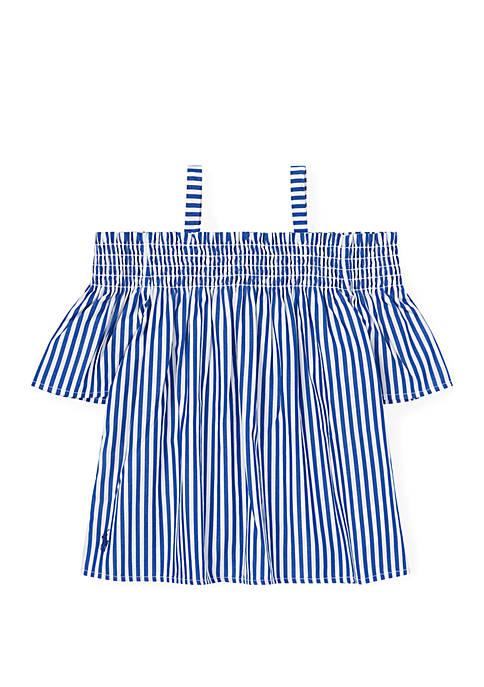 Ralph Lauren Childrenswear Girls 4-6x Cotton Off the