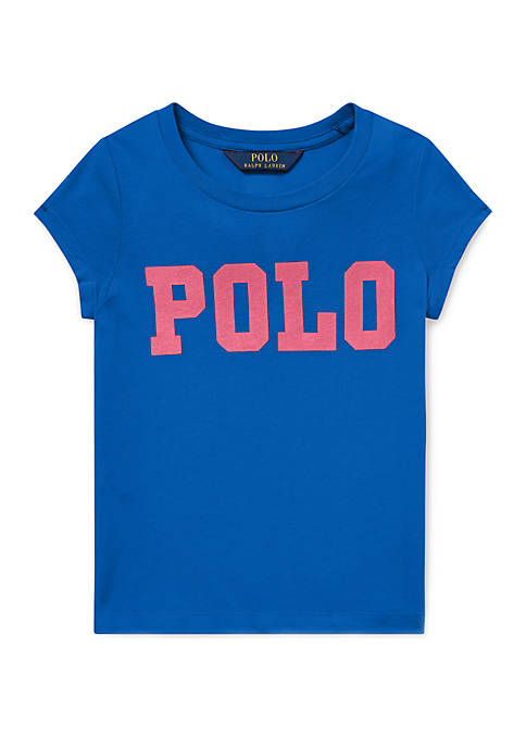 Ralph Lauren Childrenswear Girls 4-6x Cotton Jersey Graphic