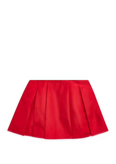Girls 4-8 Pleated A-Line Skirt