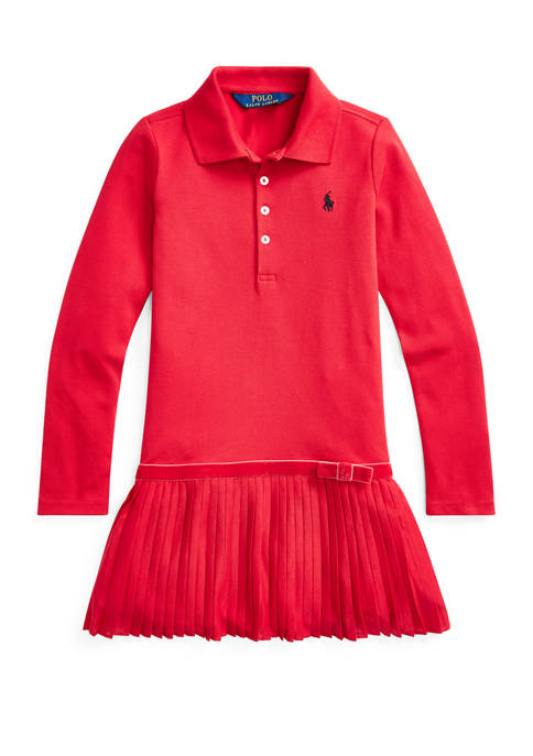 Ralph Lauren Childrenswear Girls 4-6x Stretch Cotton Mesh