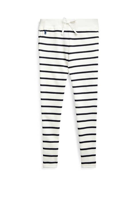 Ralph Lauren Childrenswear Girls 4-6x Striped Cotton Blend