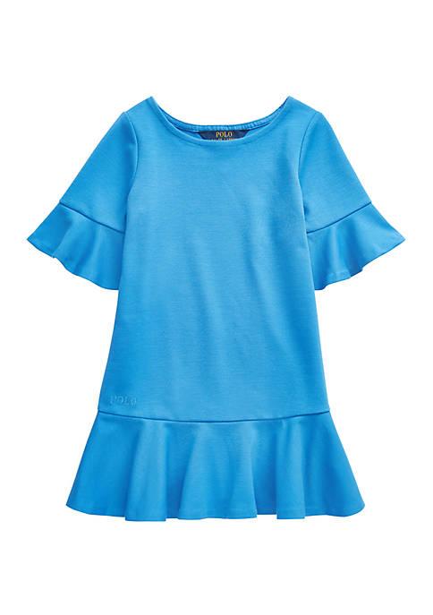 Ralph Lauren Childrenswear Girls 4-6x Polo Ponte Drop-Waist