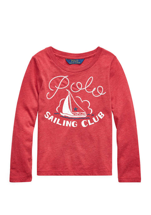 Ralph Lauren Childrenswear Girls 4-6x Sailing Club Cotton