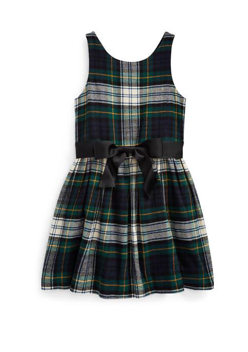 Ralph Lauren Childrenswear Girls 4-6x Tartan Cotton Twill