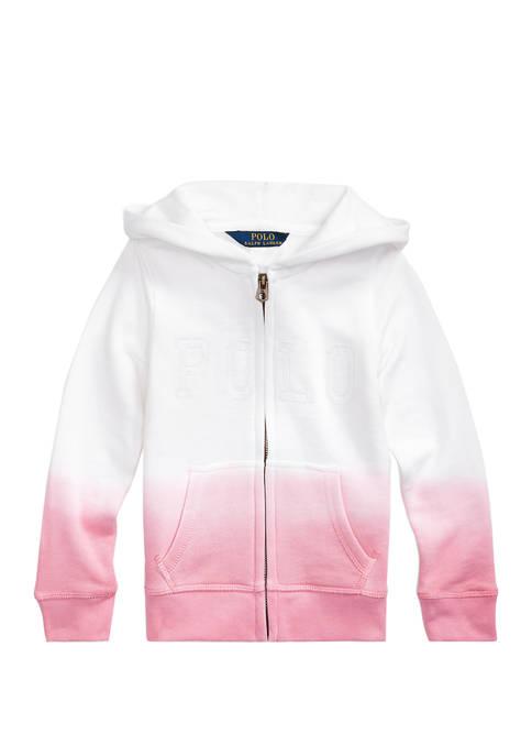 Ralph Lauren Childrenswear Girls 4-6x Dip-Dyed French Terry