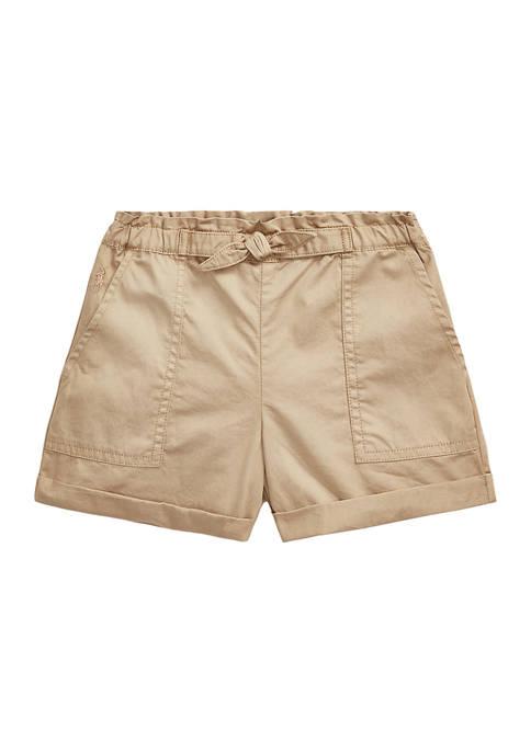Ralph Lauren Childrenswear Girls 4-6x Cotton Twill Camp