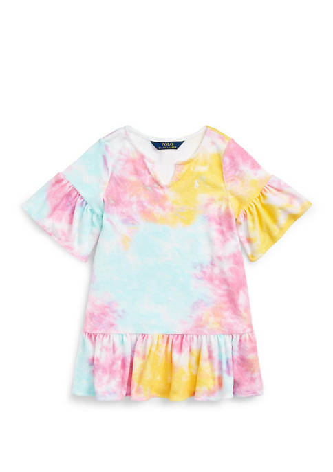 Girls 4-6x Tie-Dye Terry Cover-Up