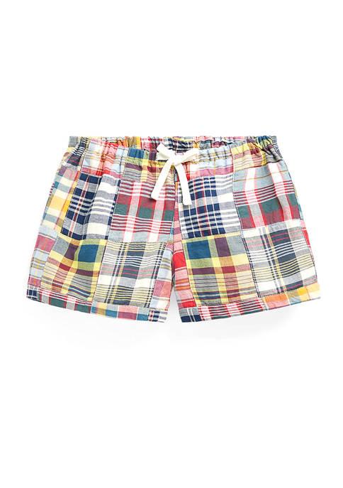 Ralph Lauren Childrenswear Girls 4-6x Patchwork Cotton Madras