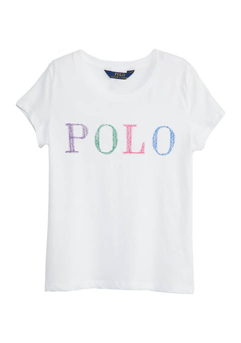 Ralph Lauren Childrenswear Girls 4-6x Enzyme Polo T-Shirt