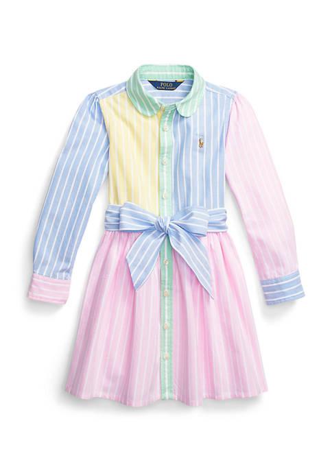 Ralph Lauren Childrenswear Girls 4-6x Cotton Oxford Fun