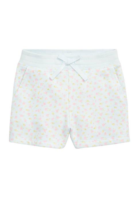 Ralph Lauren Childrenswear Girls 4-6x Floral Cotton-Blend-Fleece