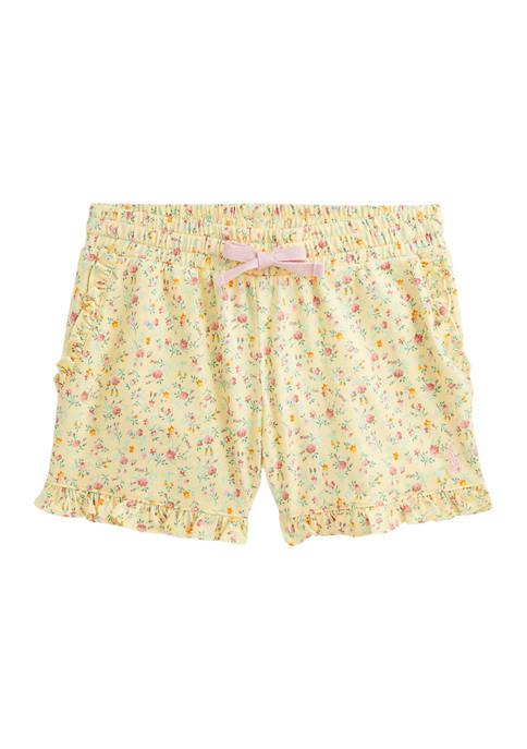 Ralph Lauren Childrenswear Girls 4-6x Floral Cotton Jersey