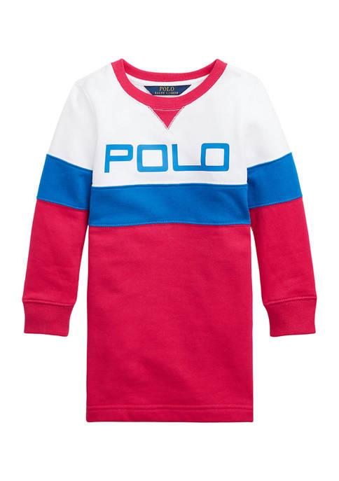 Ralph Lauren Childrenswear Girls 4-6x Logo Fleece Tee
