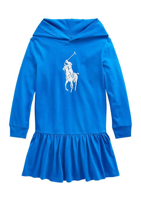 Ralph Lauren Childrenswear Girls 4-6x Big Pony Cotton