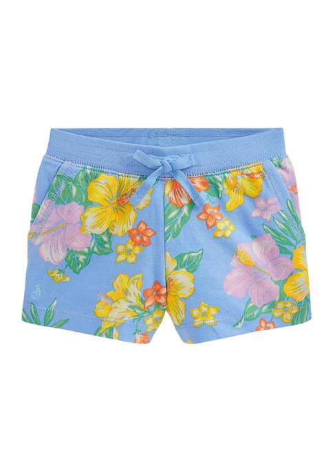 Ralph Lauren Childrenswear Girls 4-6x Floral Spa Terry