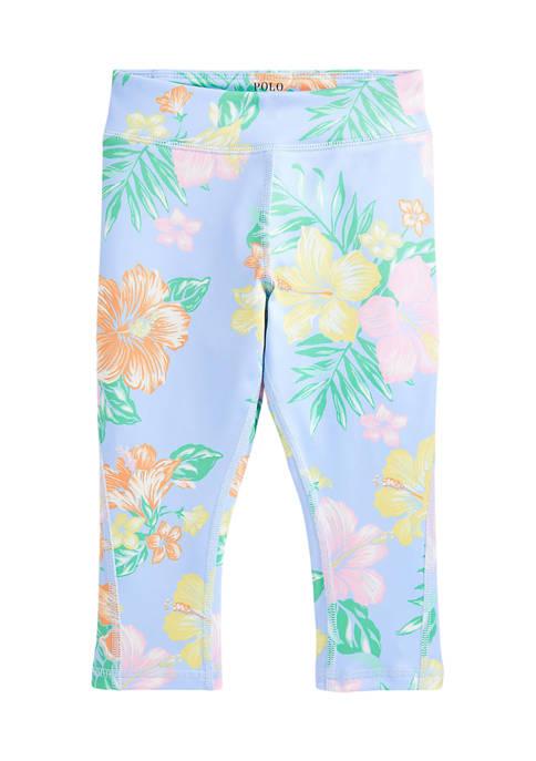 Ralph Lauren Childrenswear Girls 4-6x Floral Stretch Jersey