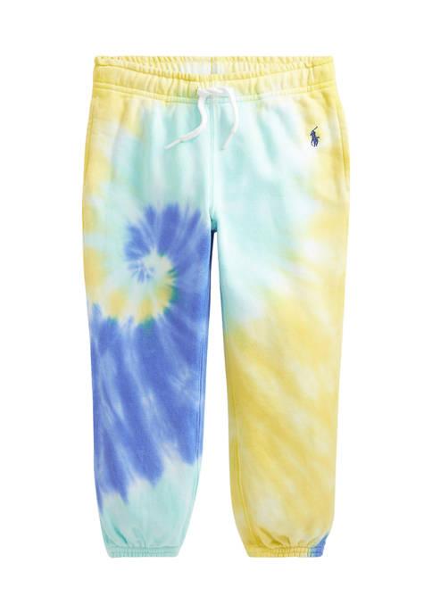 Ralph Lauren Childrenswear Girls 4-6x Tie-Dye Cotton French