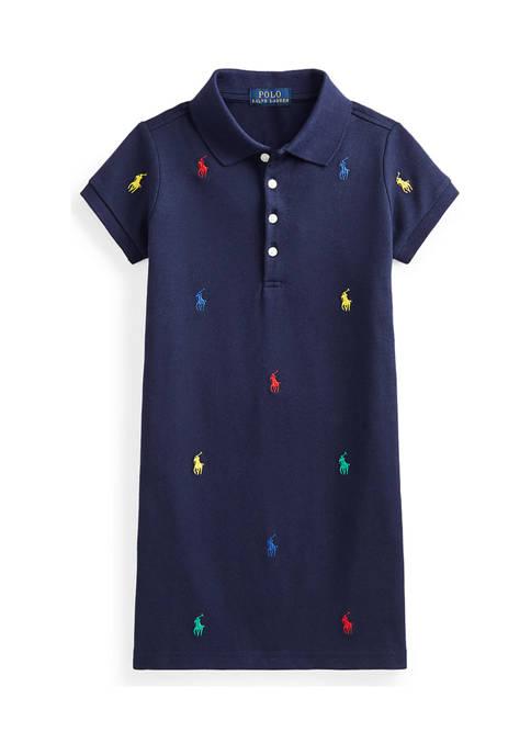 Ralph Lauren Childrenswear Girls 4-6x Polo Pony Stretch