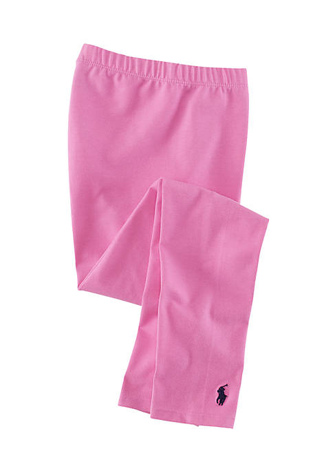 Ralph Lauren Childrenswear Stretch Cotton Leggings Girls 7-16