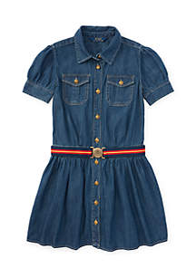 Denim Shirtdress Girls 7-16