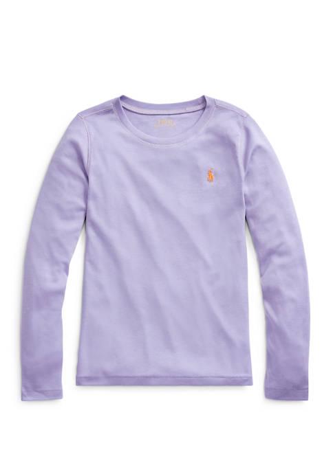 Ralph Lauren Childrenswear Girls 7-16 Cotton Modal Silicone