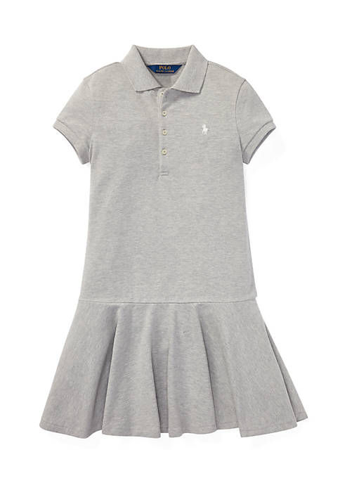 Ralph Lauren Childrenswear Girls 7-16 Stretch Pique Polo