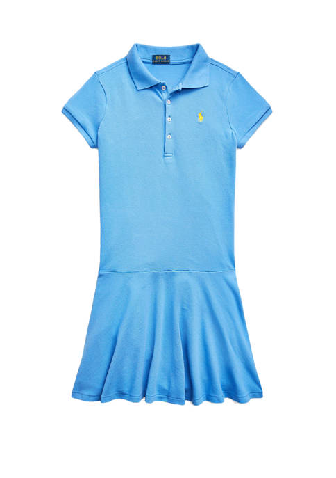 Ralph Lauren Childrenswear Girls 7-16 Stretch Piqué Polo