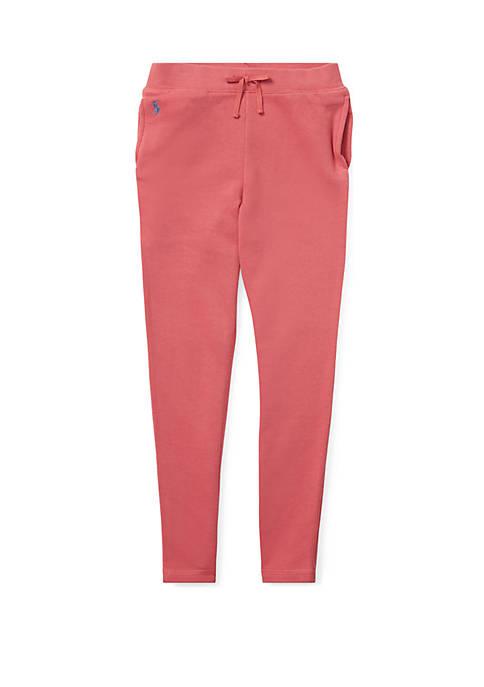 Ralph Lauren Childrenswear Girls 7-16 French Terry Leggings