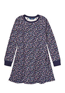 Girls 7-16 Atlantic Terry Floral Dress