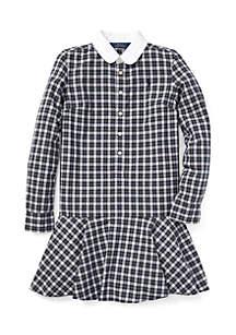 Girls 7 - 16 Plaid Poplin Dress