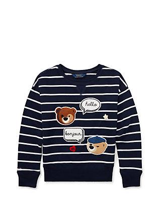 355795eae Ralph Lauren Childrenswear. Ralph Lauren Childrenswear Girls 7-16 Atlantic  Terry Novelty Pullover