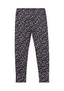Girls 7-16 Floral Jersey Legging