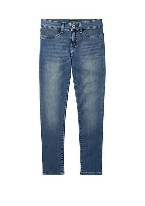 Ralph Lauren Childrenswear Girls 7-16 Aubrie Denim Legging