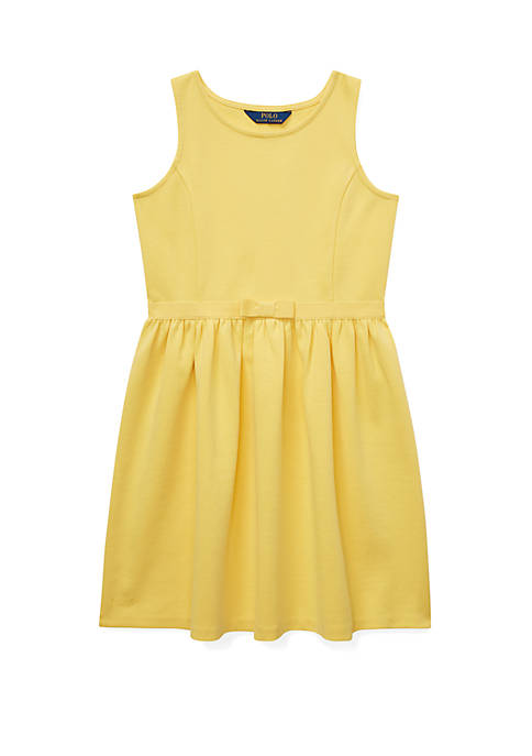 Ralph Lauren Childrenswear Girls 7-16 Ponte Sleeveless Dress