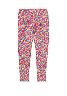Ralph Lauren Childrenswear Girls 7-16 Floral Jersey Leggings
