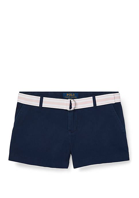 Ralph Lauren Childrenswear Girls 7-16 Chino Shorts