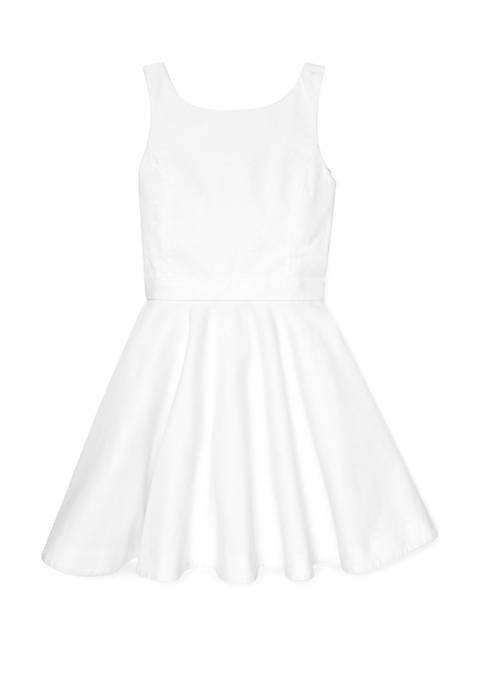 Ralph Lauren Childrenswear Girls 7-16 Cotton Piqué Dress